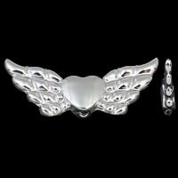 Engel vleugeltjes zilver met hartje