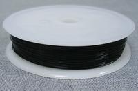 Koper wire zwart