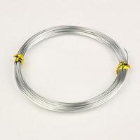 Aluminium wire zilver