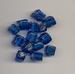 Donker Blauwe kraal Blokje