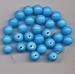 licht Blauwe kraal opaque 9