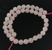 Rose quartz rond 8