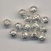 Metalen kraal open 6 verpakt per 100 stuks