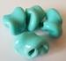 Turquoise vrije vorm