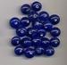 Donker blauwe rondel middel opaque