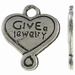 Hartje antiek zilver Give Jewelry