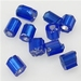Blauw zilverfolie