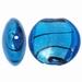 Blauw zilverfolie zwart gestreept